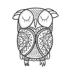 Cute decorative ornamental Owl