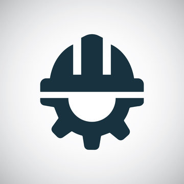helmet gear icon