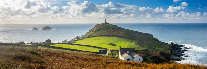 Wall Mural - Cape Cornwall England UK