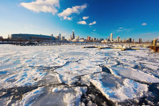 Bitter winter in Chicago
