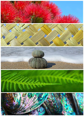 Poster Nouvelle Zélande Iconic New Zealand Nature Background Photos