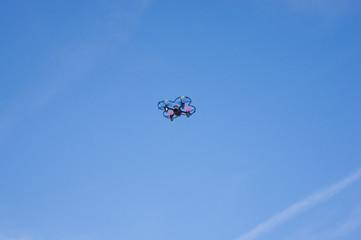 Small quadrocopter.
