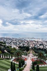 Panorama of Haifa, Israel