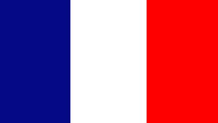 Flag France background
