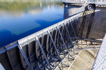 Sau Reservoir detail in Barcelona Spain