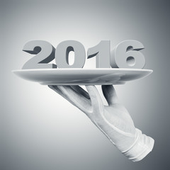 Fototapete - Happy New Year 2016