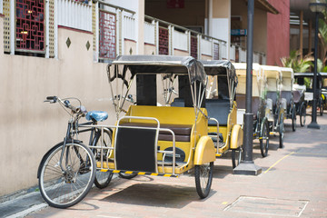 Pedicab photos, royalty-free images, graphics, vectors & videos