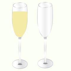 Фужер шампанского