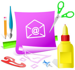 -mail at-sign