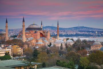 Istanbul. Image of Hagia Sophia in Istanbul, Turkey.