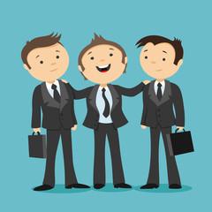 Three businessman.