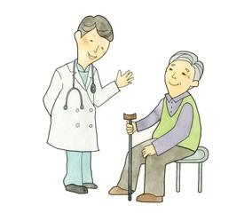 医者と老人
