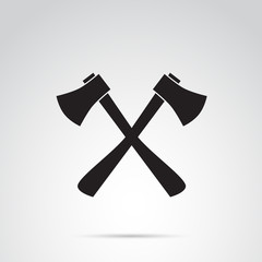 Axe vector icon.