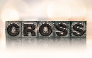 The Cross Concept Vintage Letterpress Type