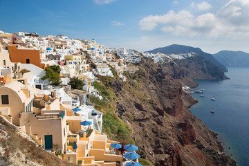 Santorini - The look from Oia to east