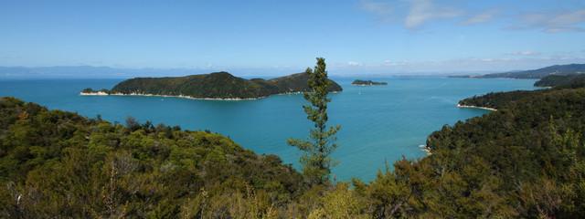 Abel Tasman Nationalpark Panorama