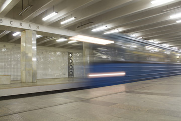 the Moscow metro as a means of transportation
