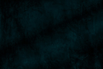 dark blue abstract the old grunge wall for background