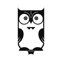 Owl Black Silhouette
