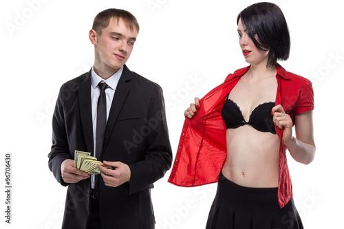 Great tits giving a handjob