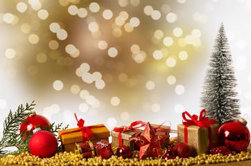 Weihnachten gold