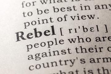 rebel Fototapete