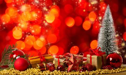 Hintergrund Weihnachten rot