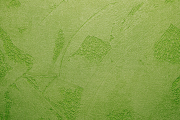 Green background texture.