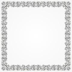 Frame Batik Silver