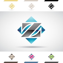 Logo Shapes and Icons of Letter Z