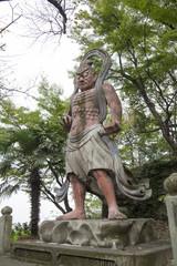 聚楽園公園:金剛力士仁王像