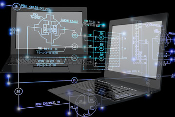 Computer engineering technology.Electrical industrial engineering scheme