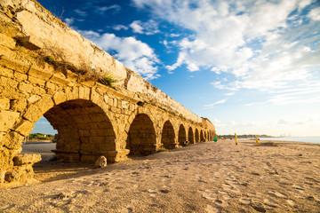 Aqueduct in Cesarea, Israel Fototapete