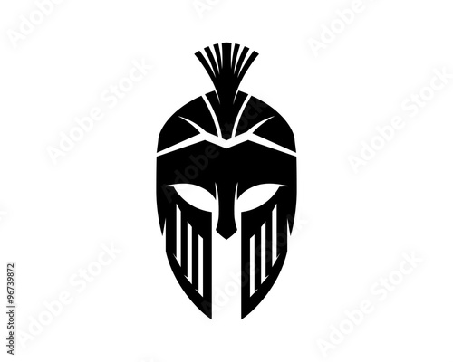 Quot Spartan Gladiator Logo Quot Stock Image And Royalty Free