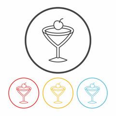 beverage line icon