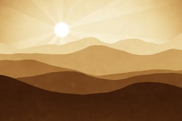 brown landscape background