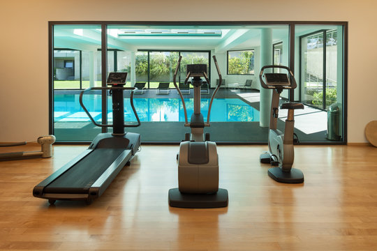 gym of a modern house