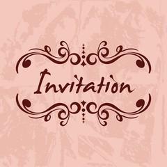 Invitation Vector Template