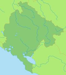 Montenegro in Grün