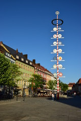 Street view in Bayreuth Germany