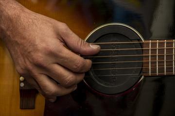 estuche guitarra musica