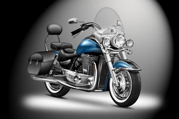 elegantes schweres Motorrad