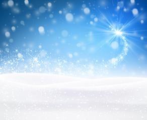 Winter background.