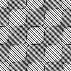 Vector seamless texture. Geometric abstract background. The repetitive pattern of lines arranged diagonally.