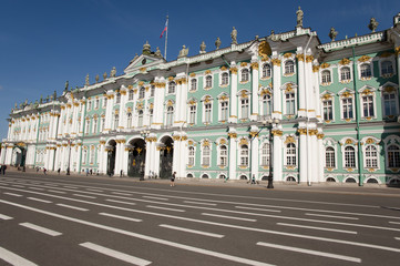 Winter Palace - St Petersburg - Russia