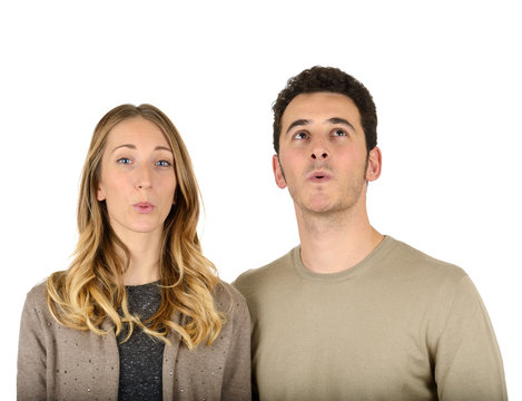 Couple whistling