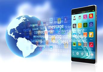 Internet on Smart rphone