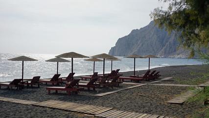 low season for greece tourism on santorini island