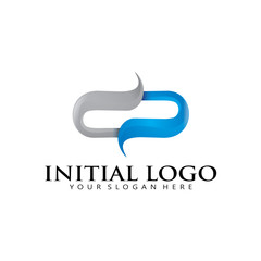 3D initial O D P Logo Icon