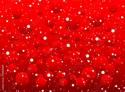 white snow with snowflakes on a red background banner vector winter sale christmas sale